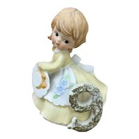 Kelvin Porcelain figurine Birthday girl 9