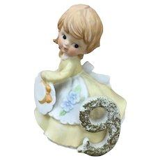 Kelvin Porcelain figurine Birthday girl 9