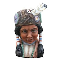 Gregory Perillo Young Sitting Bull bust figurine Vague Shadows 84/2500