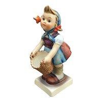 MJ Hummel Goebel little helper girl with basket figurine