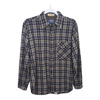 Vintage Pendleton Lobo shirt with elbow patches size medium