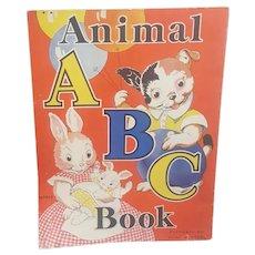 Animal ABC book M3493, 1935 Milo Winter Animal ABC book