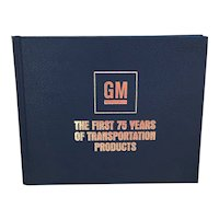 1983 General Motors The First 75 Years of Transportation Products