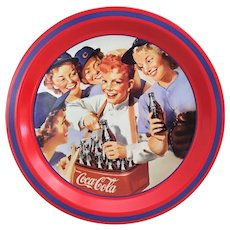 1993 Coca Cola Girl's Softball Team tray