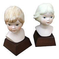 Frances Hook Limited Edition bust, Ceramica Excelsis by Roman