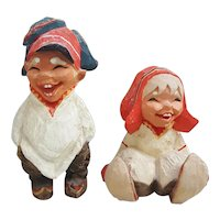 Henning carved by hand in Norway Folk Art Figurines