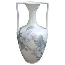 Beautiful early century Rosenthal Selb-Bavaria double handled floral vase