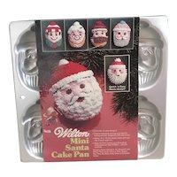 1983 Wilton Mini Santa Cake Pan