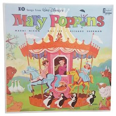 1964 Walt Disney's Mary Poppins Record Album