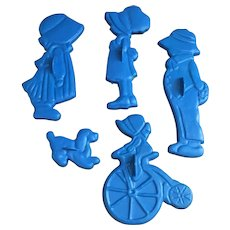 Fun American Greeting Holly Hobbie cookie cutter set