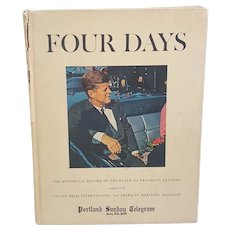 Four Days historical record of the death of President Kennedy