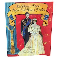 The Princess Diana Paper Doll Book of Fashion, unused