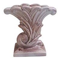 1940's Gonder Pottery Royal Purple vase