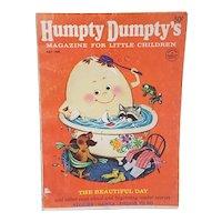 1968 Humpty Dumpty Magazine for little children