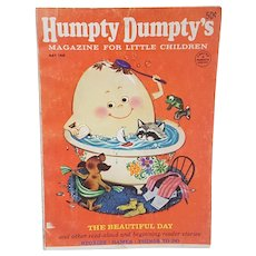 1968 Humpty Dumpty Magazine for little children