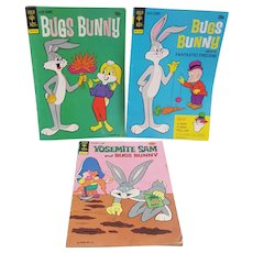 Bugs Bunny and Yosemite Sam comics, Vintage Comic Books