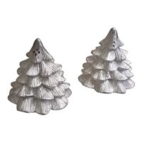 Kirk Stieff pewter by Lenox Evergreen salt and pepper shakers