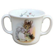 Hunca Munca Beatrix Potter Royal Albert cup