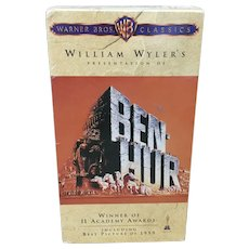 Ben-Hur VHS movie factory sealed