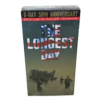 The Longest Day Movie VHS Tape
