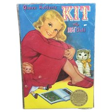 """Queen Holden's Kit the 15.5"""" doll never opened from 1985"""