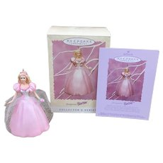 1996 Hallmark Keepsake Springtime Barbie Ornament