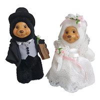A Robert Raikes Original Bride and Groom, Raikes bears bride and groom