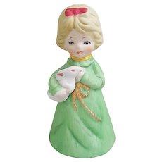 1978 Jasco Adorabelles porcelain doll bell
