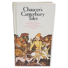Chaucer's Canterbury Tales First Pocket Books printing 1971