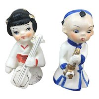 "Made in Japan 3"" musician figurines"