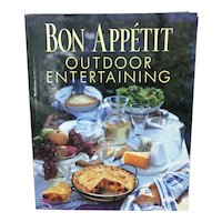 1999 First Edition Bon Appetit Outdoor Entertaining book