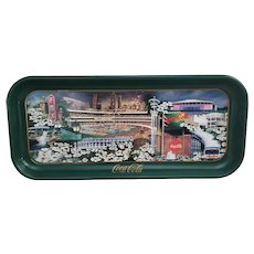 1996 Coca Cola Atlanta Our Town tray