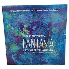 1958 Walt Disneys Fantasia Original Leopold Stokowski Motion Picture Soundtrack
