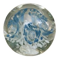 Beautiful Kerry Zimmerman art glass paperweight
