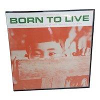 1965 Born To Live Hiroshima Documentary recordings vinyl album