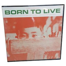 1965 Born To Live Hiroshima Documentary recordings vinyl album