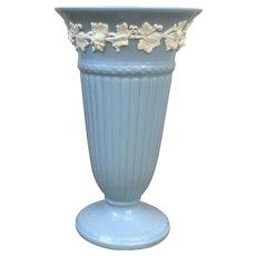 Beautiful Wedgwood of Etruria & Barlaston Embossed Queens Ware vase