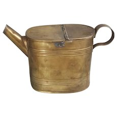 Antique British Brass watering can British brass water can