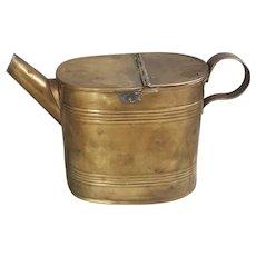 Antique British Brass watering can British brass water can