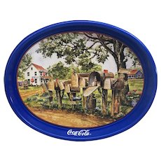 1995 Coca Cola Mailboxes Tray by Jeanne Mack