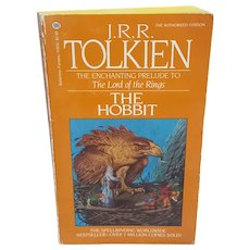 JRR Tolkien The Hobbit Ballantine book