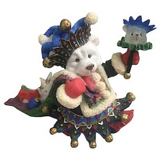 Enesco 1996 Polar Kins Wishing You Blessing Fit For a King Karen Hahn