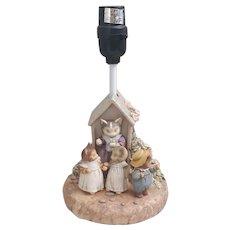The World of Beatrix Potter Tom Kitten Lamp Frederick Warne & Co 1994
