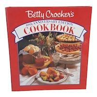 Betty Crocker's 40th Anniversary Edition Cookbook five ring spiral