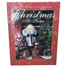 1992 Better Homes and Gardens Christmas At Home