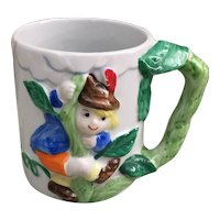 Fairytale mug Jack in the Beanstalk mug