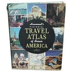 1950's Hammonds Pictorial Travel Atlas of Scenic America