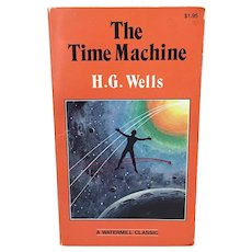 1980 H.G. Lewis The Time Machine paperback book