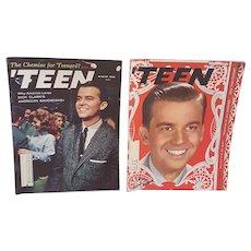 1950's Teen Magazine with Dick Clark, 1950's Dick Clark American Bandstand