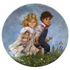 Reco International Jack and Jill plate John McClelland